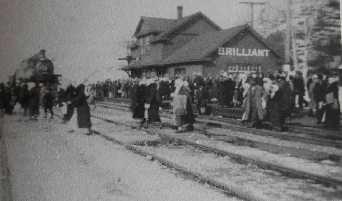 Crowd at the Station