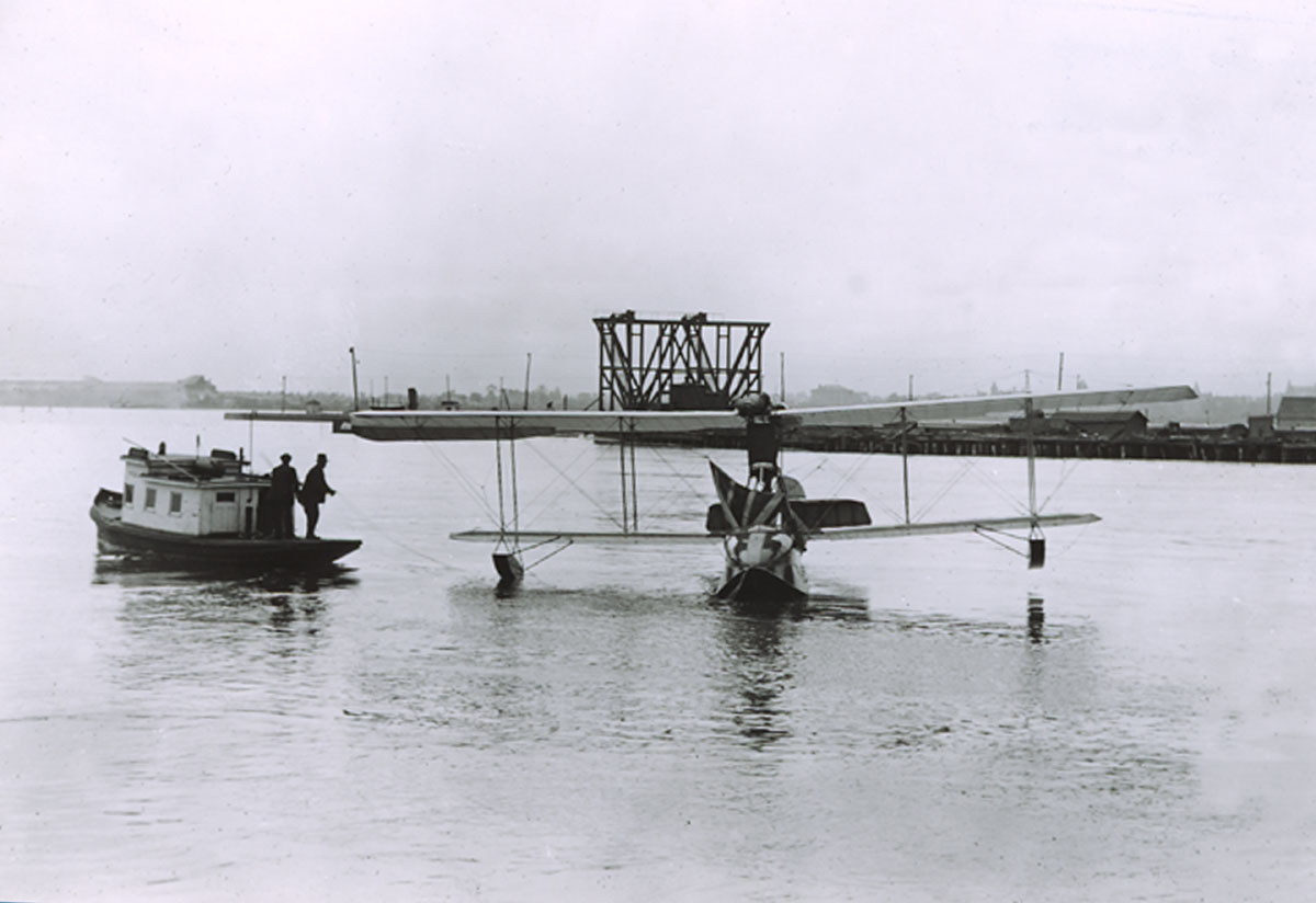 An Early Seaplane