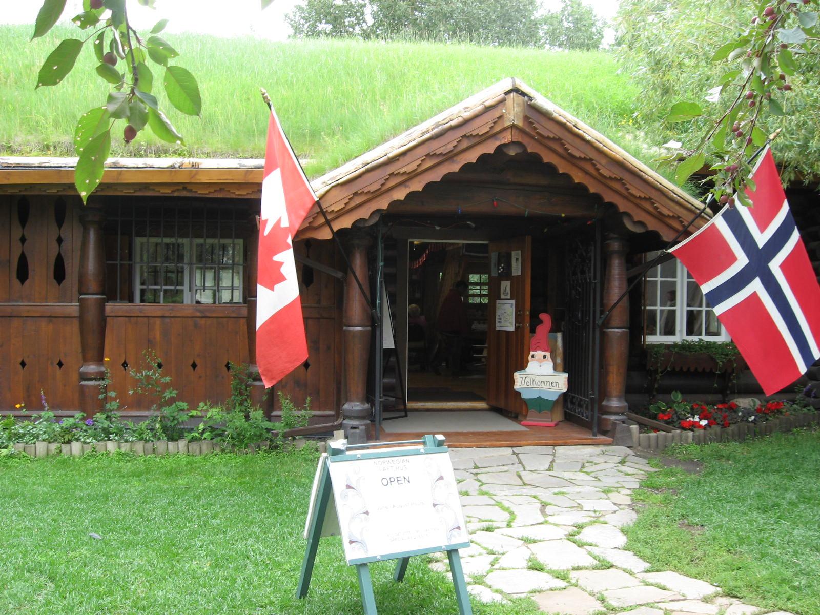 Norwegian Laft Hus